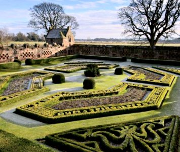 Walled Garden at Edzell Castle